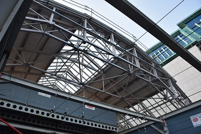Pearse Station new roof 11 July 2019