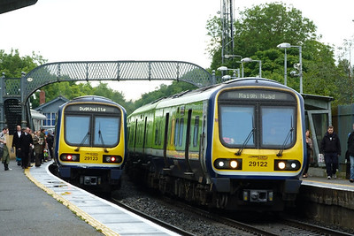 29123 and 29122 at Clonsilla, Tuesday, 07/06/11