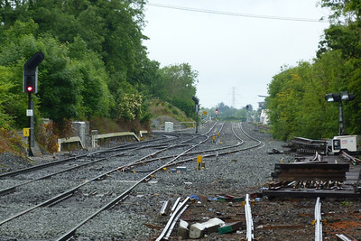 The junction at Clonsilla, Tuesday, 07/06/11