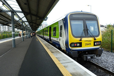 29411 after arriving at Dublin Docklands, Tuesday, 07/06/11