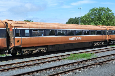 6305 with a faded livery. Dundalk, Wednesday, 20/06/12