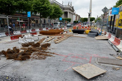 Luas XC O'Connell St stop 17 June 2016