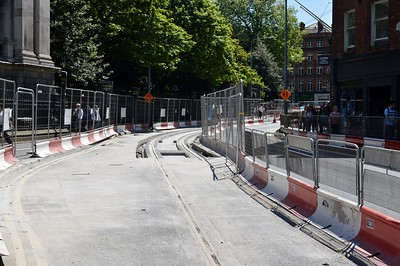 Luas XC works Grafton St 2 June 2016