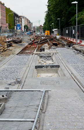 Luas XC works St Stephens Green 9 June 2016