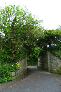 One final example of the former coastal route is seen north of Bray at Shankill where the remains of this bridge are located, near the beach. Thursday, 05/07/12