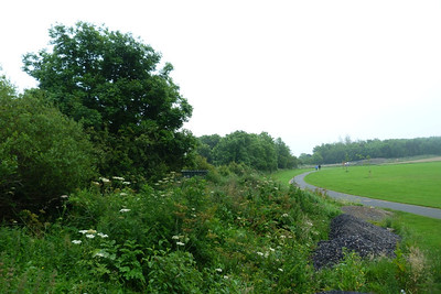 Looking south along the 1915 alignment to Shanganagh Junction. Thursday, 05/07/12