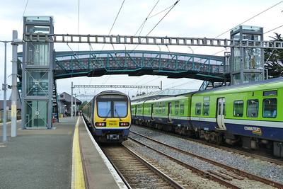 29429 about to form the 09:00 Bray to Balbriggan, via Dublin Connolly. Thursday, 05/07/12