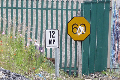 The mileposts from just north of Bray to Wexford are still calculated from Harcourt Street. Further north along the line one passes another milepost 12, which is calculated from Dublin Pearse. Thursday, 05/07/12