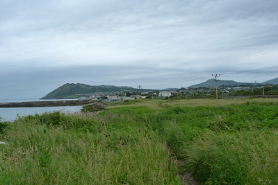 Heading further along the route, looking back at Bray. Thursday, 05/07/12