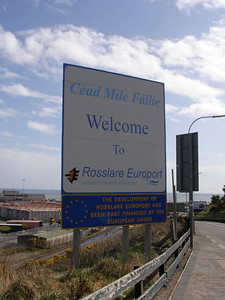 Welcome to Rosslare Europort 10 November 2008