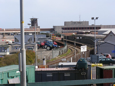 Overview of Rosslare Harbour station area 10 November 2008
