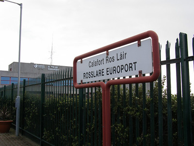 Rosslare Harbour 10 November 2008 Namepost is not in the corporate image!