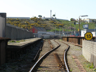 Remains of Rosslare Harbour Mainland station, 10 November 2008