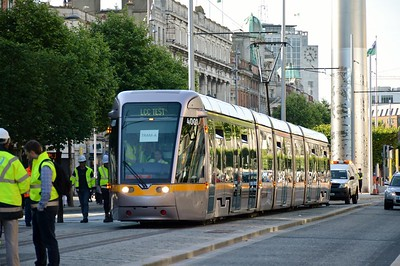 4001 & Dublin Spire O'Connell St 17 June 2017