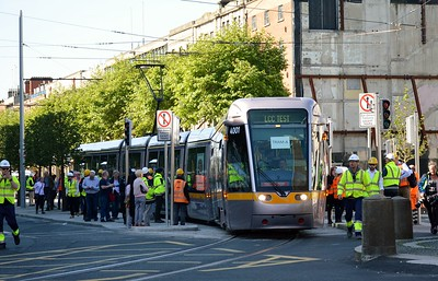 4001 turns into Parnell St 17 June 2017