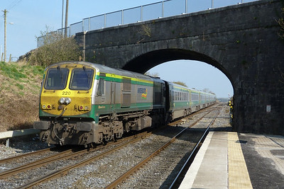 220 providing the power. Kildare, Friday, 25/03/11