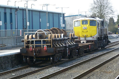 A well loaded wheel carrier. Kildare, Friday, 25/03/11