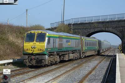 219 on the 12:30 Cork to Heuston, Kildare, Friday, 25/03/11