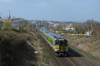2810 on the rear. Balbriggan, Wednesday, 30/03/11