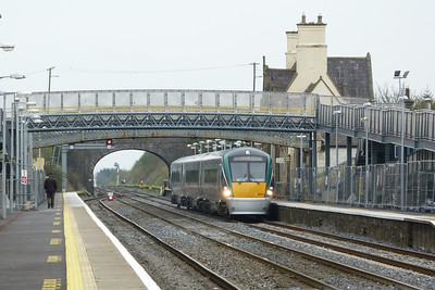 22058 arriving with the 12:05 from Dublin Heuston. Kildare, Friday, 23/03/12
