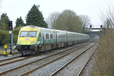 4002 on the rear. Kildare, Friday, 23/03/12