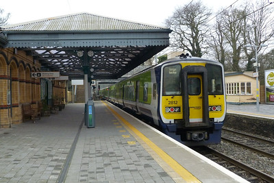 2812 departs Malahide with the 10:50 Balbriggan to Dublin Connolly. Thursday, 08/03/12