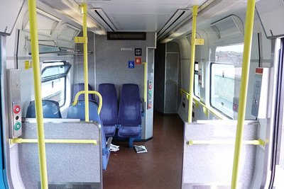 The unique five-seat bay, that only appears on a 2800. 2811, Thursday, 08/03/12
