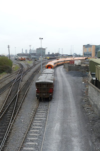 An overall view of North Wall Yard, Wednesday, 14/03/12