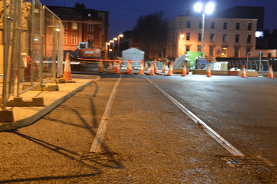 New track Hawkins St 14 March 2014