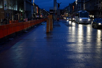Luas XC O'Connell Street stop 2 March 2017