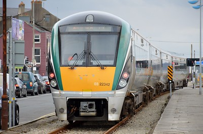 22242 departs Wexford Quays 30 March 2018