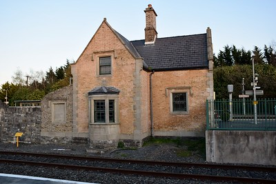 Waiting room at Hazelhatch & Celbridge 29 March 2019 The original station building