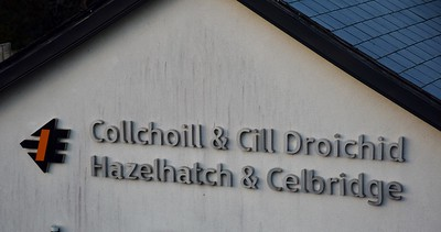 Signage at Hazelhatch & Celbridge 29 March 2019