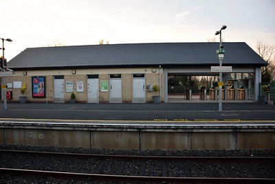 Station building at Hazelhatch & Celbridge 29 March 2019