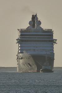 Queen Victoria, Dublin Port, Tuesday, 24/05/11