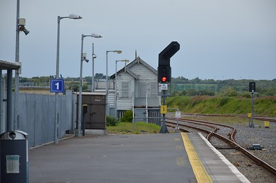 RL559 and Signal Box Wexford 19 March 2017