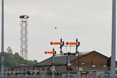 Semaphore signals at Kent Station Cork 5 May 2017