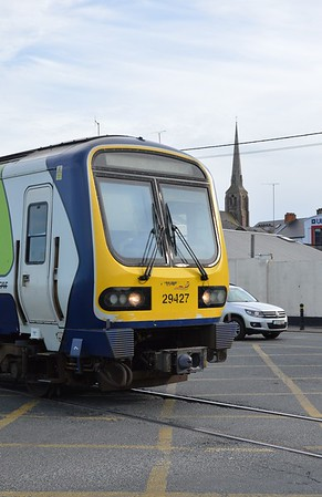 29427 on Wexford Quay railway line 19 March 2017