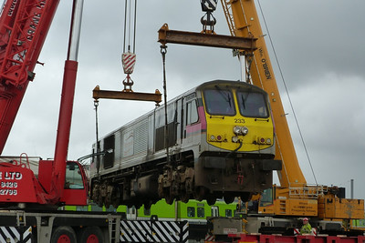 233 suspended in the air. The last time it was like this was probably around 16 or 17 years ago when it was being unloaded from the boat in Dublin Port after arriving from North America. Connolly, Wednesday, 02/11/11