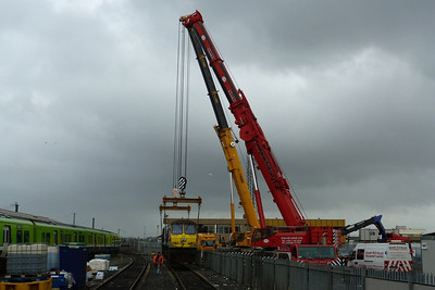 And 233 is off the rails, making one less locomotive on the Irish Rail network. Connolly, Wednesday, 02/11/11
