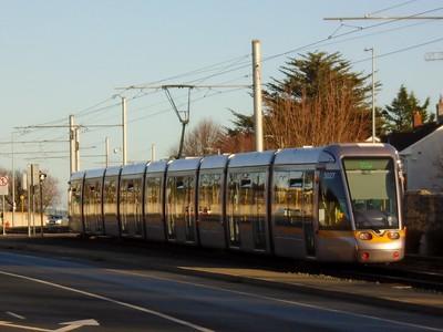 5027 runs along Murphystown Road 25 November 2020