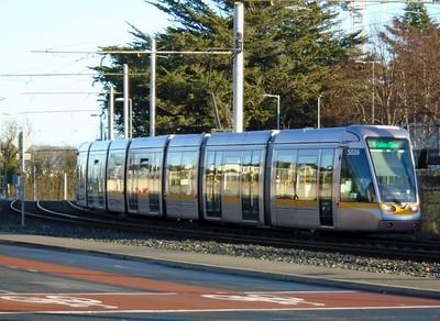 5026 runs along Murphystown Road 25 November 2020