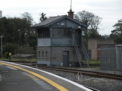 Signal cabin Sligo 12 October 2013