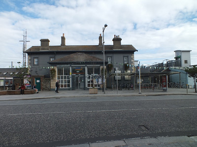 Exterior of Greystones Station 5 October 2013