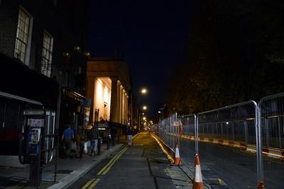 Luas works on Marlborough St 31 October 2015