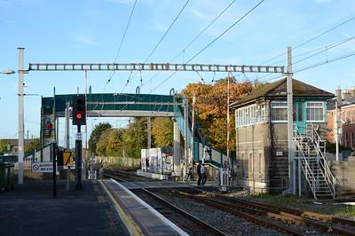 New footbridge  Bray 31 October 2015