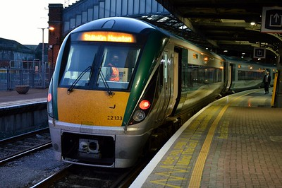 22133 Cork Kent 12 October 2016 19.20 to Dublin Heuston