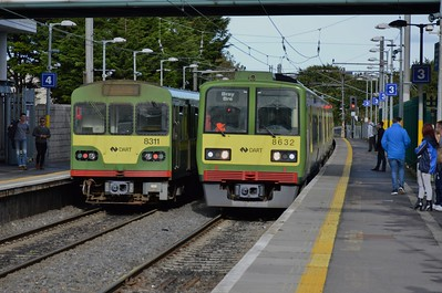 8311 & 8632 Howth Junction 15 October 2016