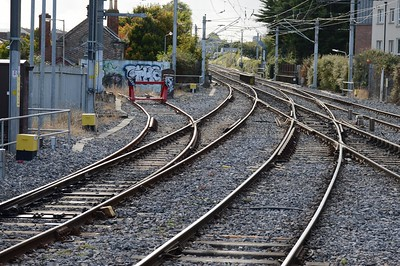 Track layout Howth Junction 15 October 2016