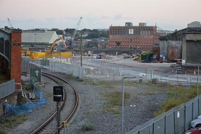 Works underway at Cork Kent 12 October 2016